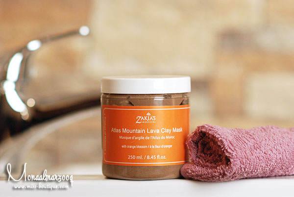 الطين المغربي  Atlas Mountain Clay Mask – Orange Blossom